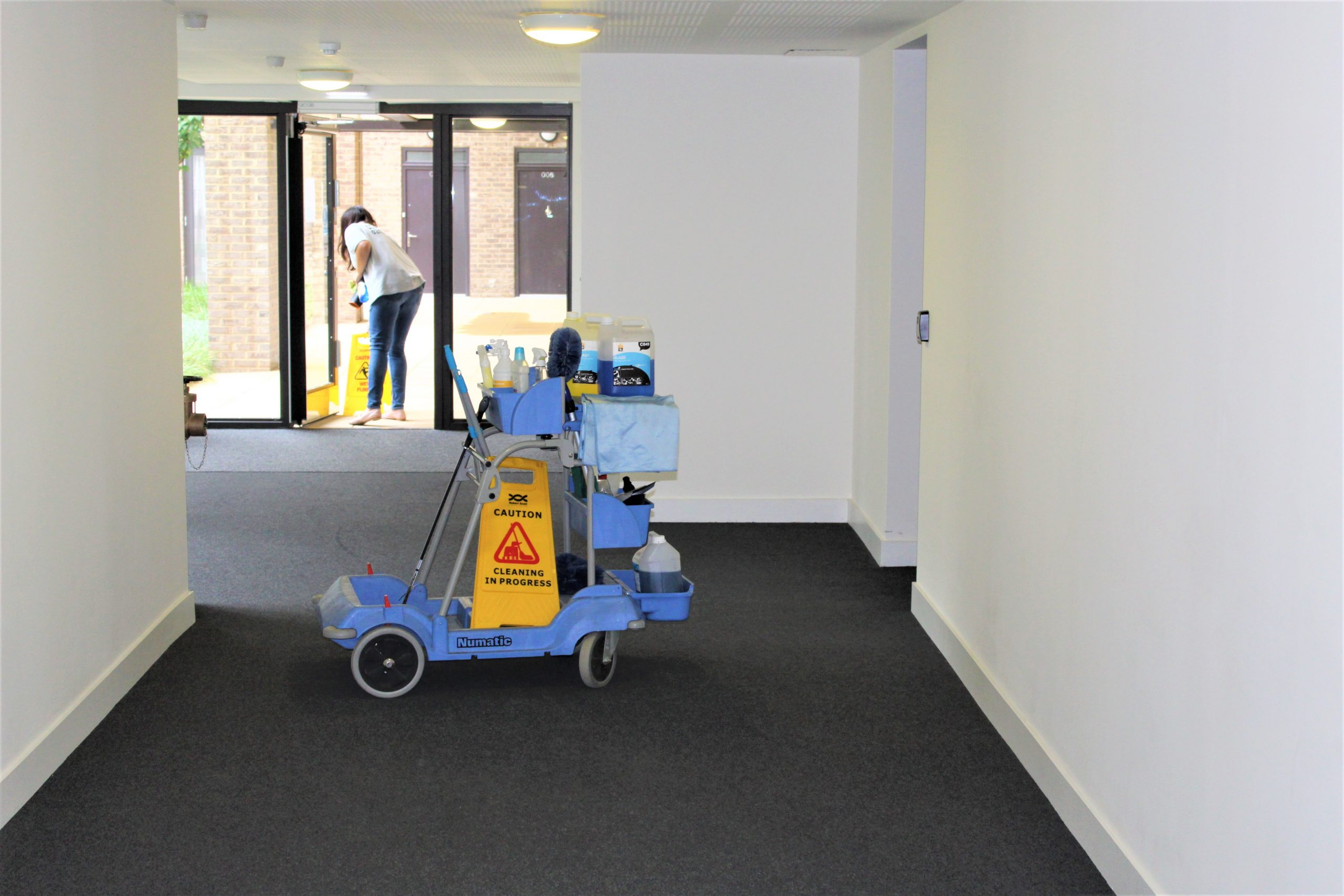 block cleaners London